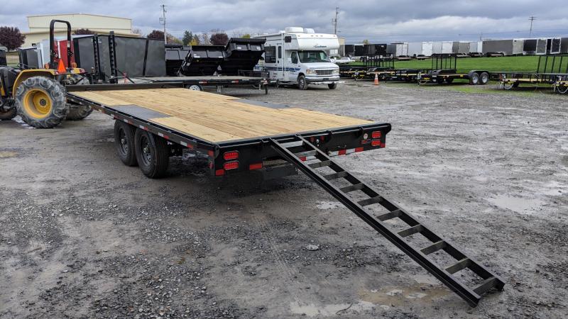 2021 Big Tex Trailers 20' 14K Deckover Flatbed Trailer