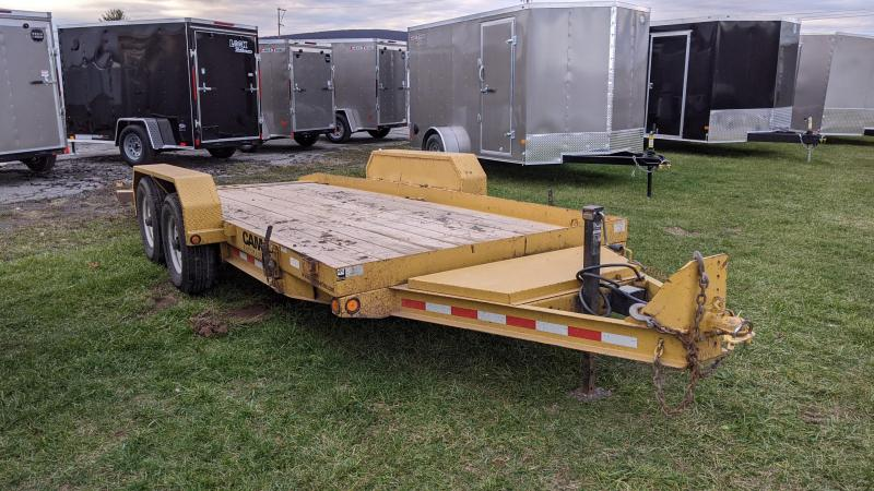2013 Cam Spray 18' Equipment Trailer