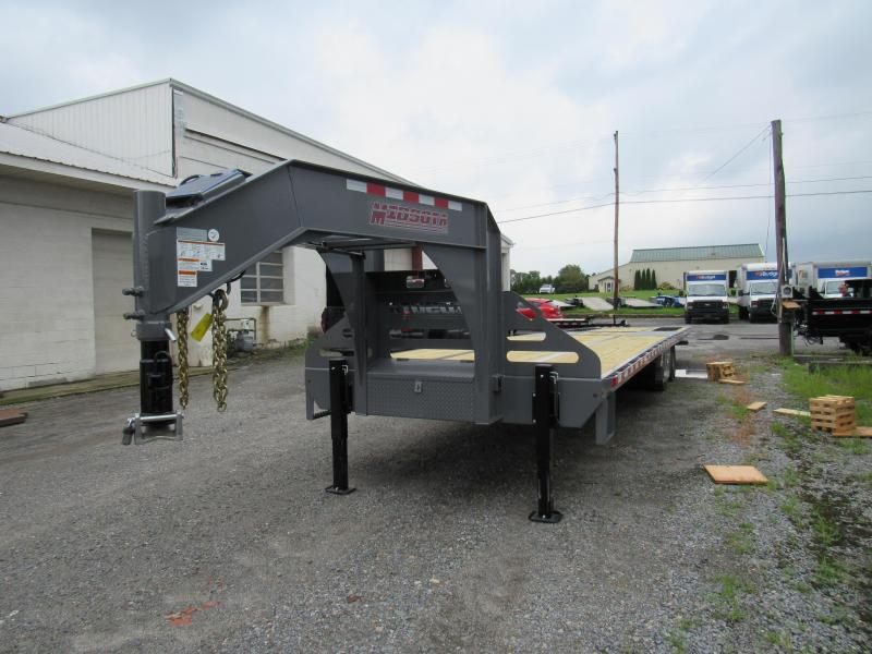 2020 Midsota FB36-GN Gooseneck Power Beavertail Flatbed Trailer