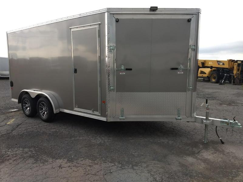 2019 Mission EZES 7.5x14+4 Enclosed Snowmobile Trailer