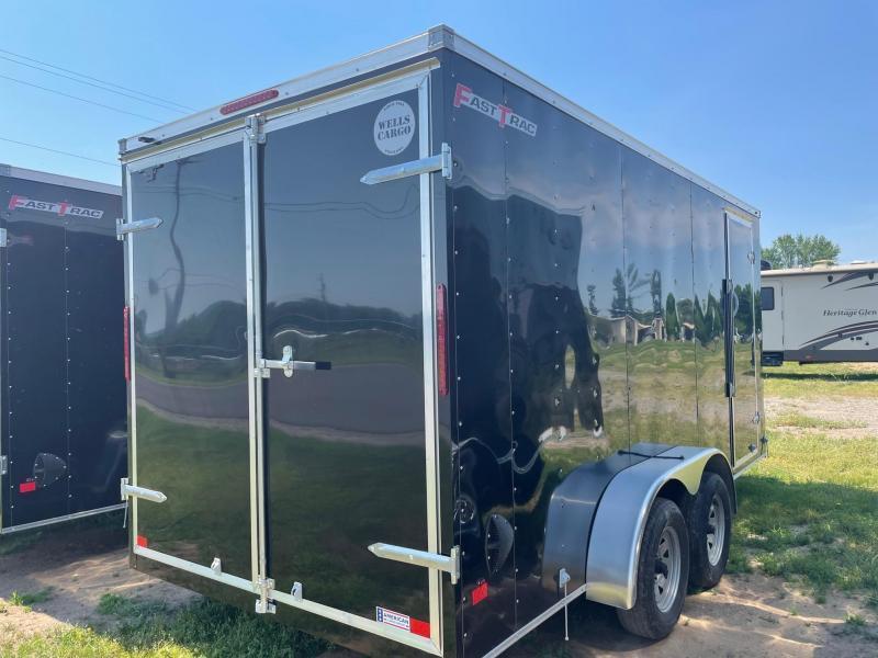 2021 Wells Cargo 7x16 7K Enclosed Cargo Trailer