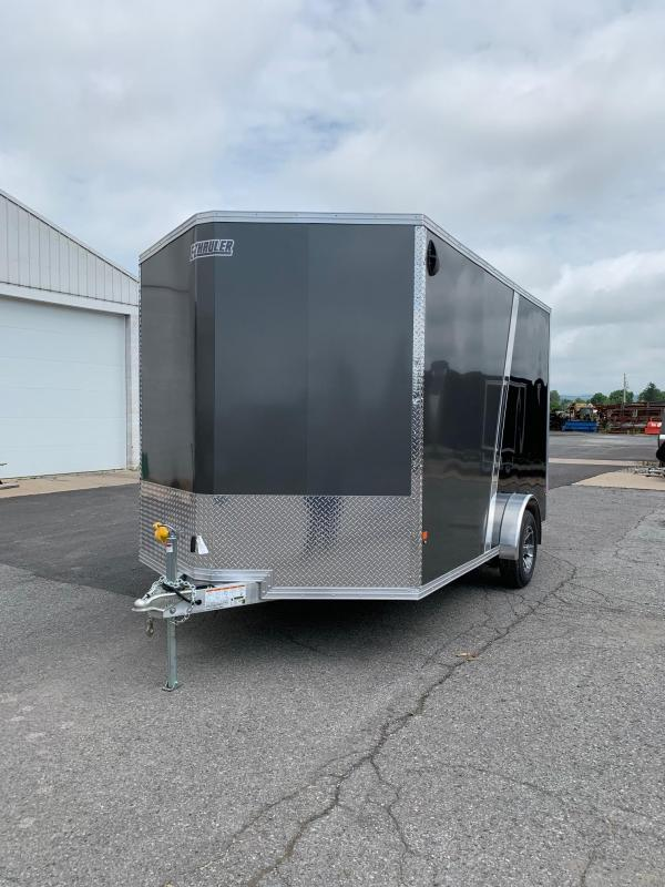 2019 Mission 7.5x12 EZ Hauler Enclosed Cargo Trailer