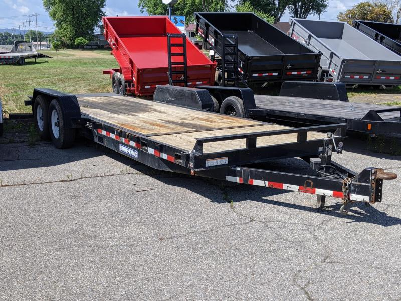 2018 Sure-Trac 18+4 Tilt 14K Equipment Trailer