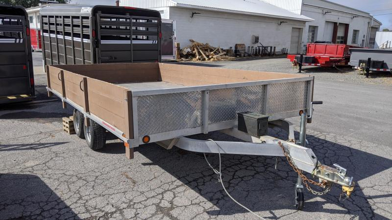 2012 Worthington Trailers 93x14 Utility Trailer