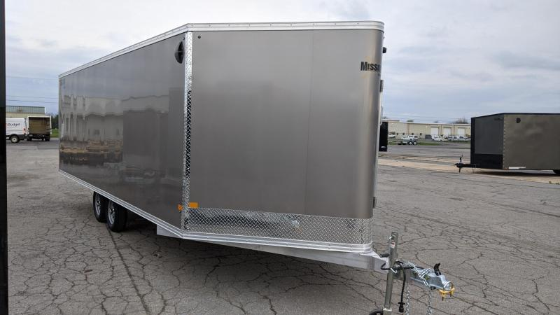 2021 Mission 101x22 Snowmobile Trailer