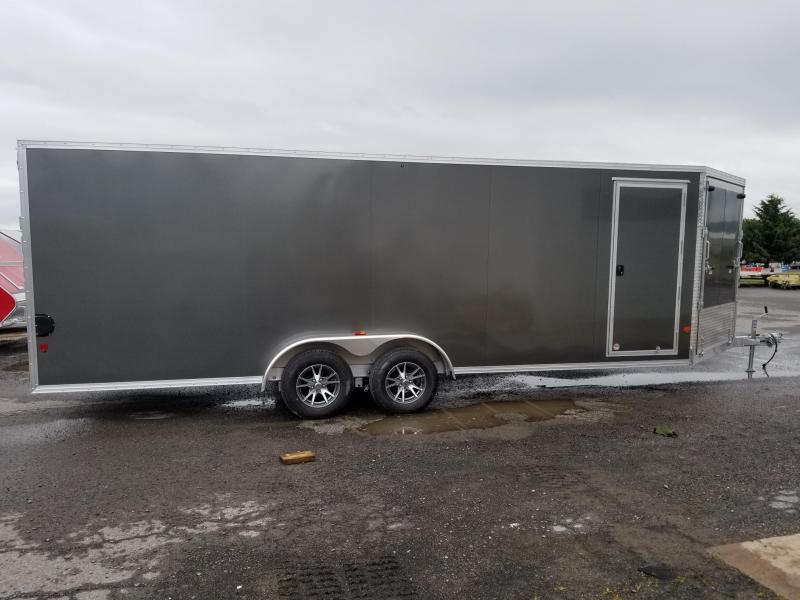 2018 Mission EZES 7x22+4 Enclosed Snowmobile Trailer