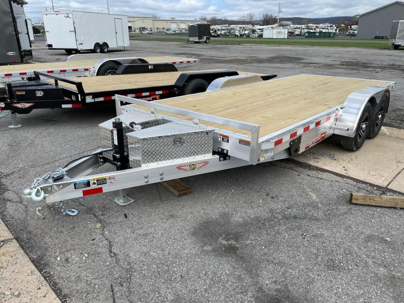 2021 H and H Trailer 18' 10K Aluminum Car / Racing Trailer