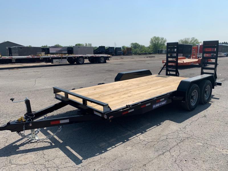 2020 Sure-Trac 7 x 16  Equipment Trailer  10K