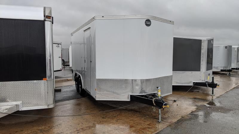 2021 Wells Cargo 8.5x16 Enclosed Cargo Trailer