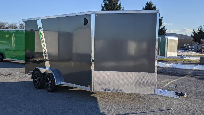 2021 Legend Trailers 7.5x14+V Snowmobile Trailer