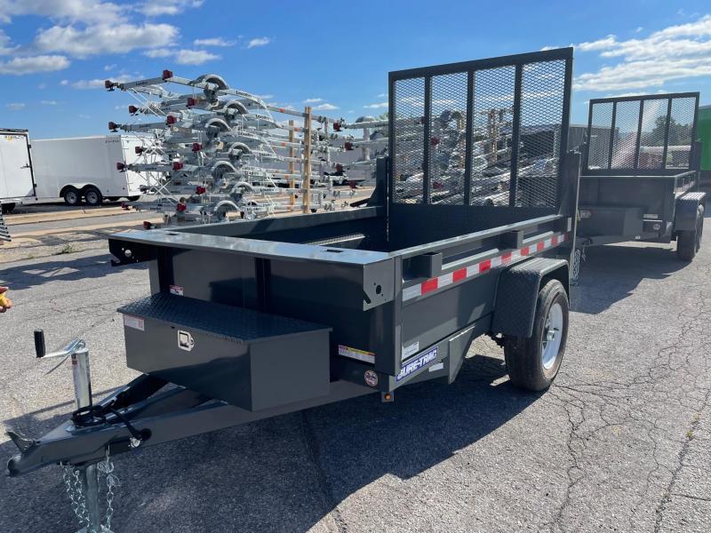 2022 Sure-Trac 5x8 5K Low Profile Dump Trailer