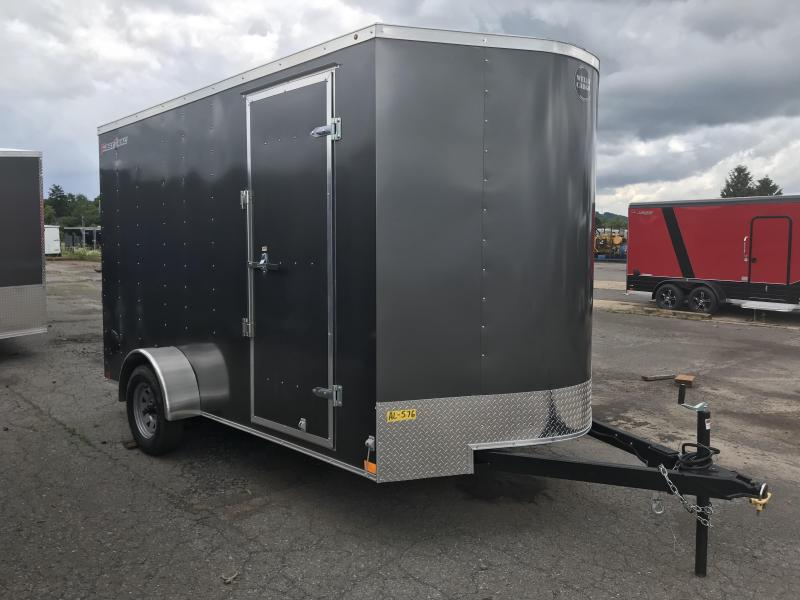 2020 Wells Cargo 7x12 Enclosed Cargo Trailer