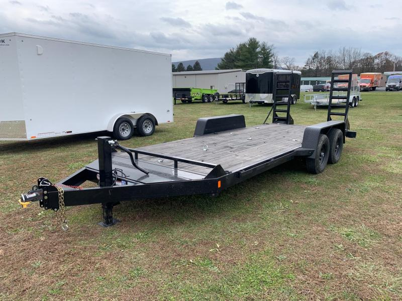 2019 B-Wise 18' 10K Equipment Trailer
