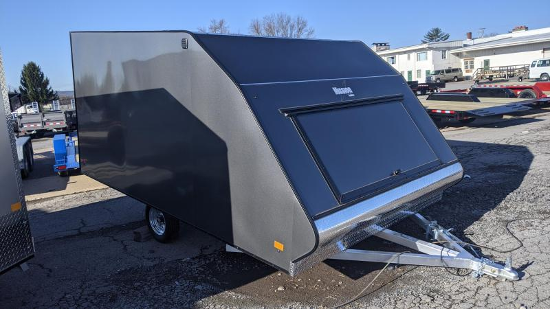2021 Mission 101 x 12 Crossover Snowmobile Trailer