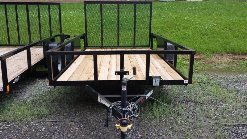 2020 Holmes 6-4x12 Commercial Open Side Rail 5k Utility Trailer