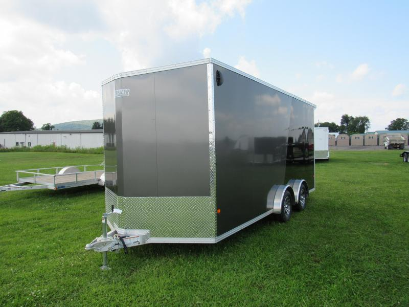 2020 Mission EZ Hauler 7.5x18 7k UTV (Limited Model) Enclosed Cargo Trailer