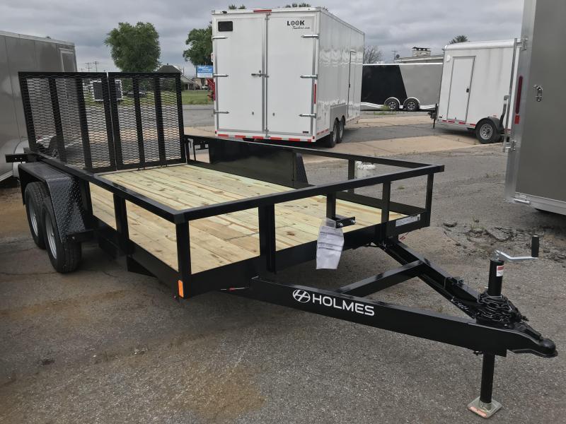 2020 Holmes Com 6-10x14 Utility Trailer