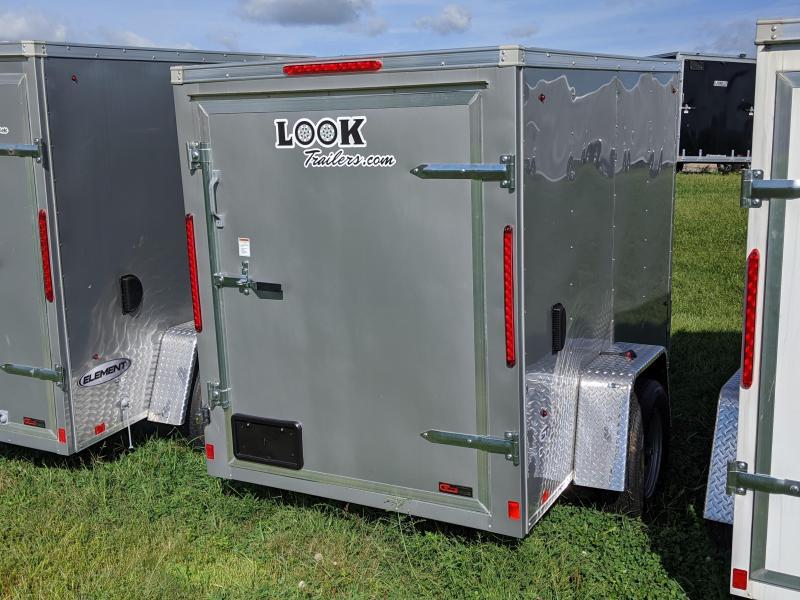 2020 Look Trailers 5x8 Enclosed Cargo Trailer