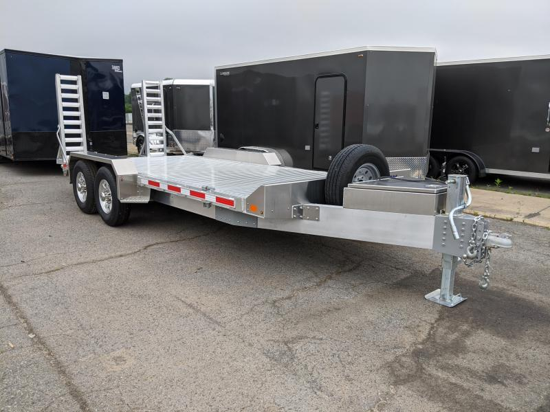 2020 EBY Low Profile 7x18 14K Equipment Trailer