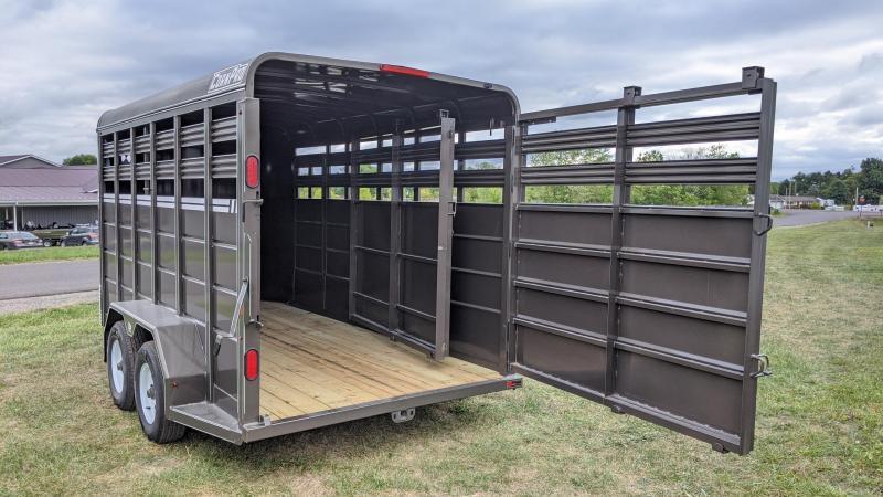 2021 CornPro 7x16 Livestock Trailer