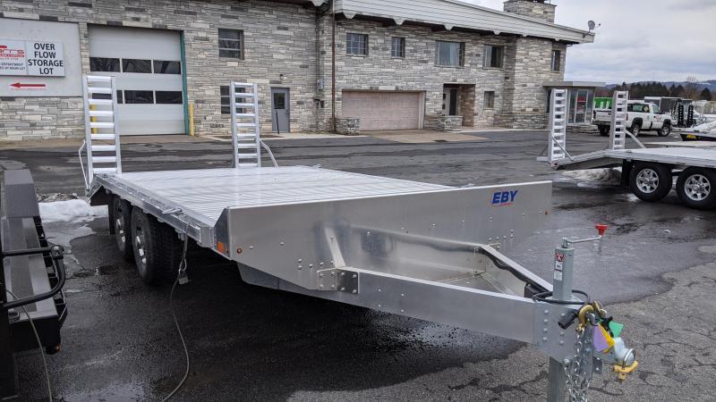 2021 EBY 18' 10K Deckover equipment Trailer