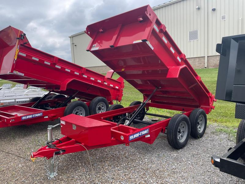 2021 Sure-Trac 5x10 7K Dump Trailer
