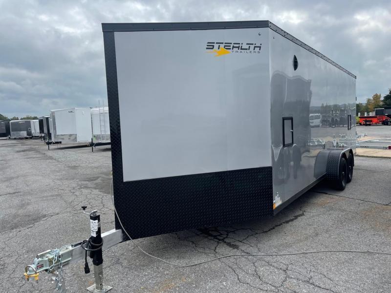 2022 Stealth Trailers 7x22+V 7K Snowmobile Trailer