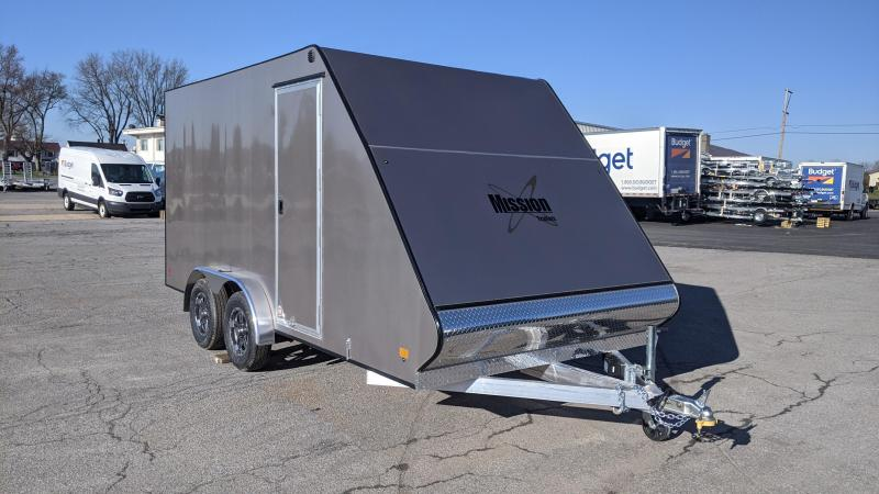 2021 Mission 7.5 x 16 Crossover Snowmobile Trailer