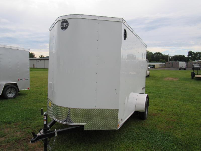 2019 Wells Cargo 6x10 Fast Trac Enclosed Cargo Trailer