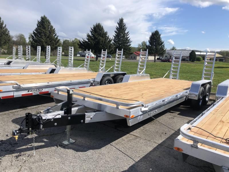 2022 Legend Trailers 7x22 10K Equipment Trailer