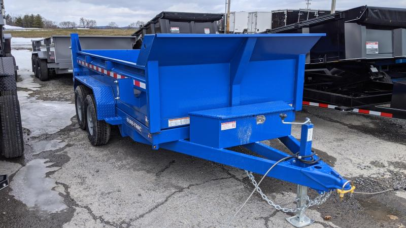 2021 Sure-Trac 6x12 low profile Dump Trailer