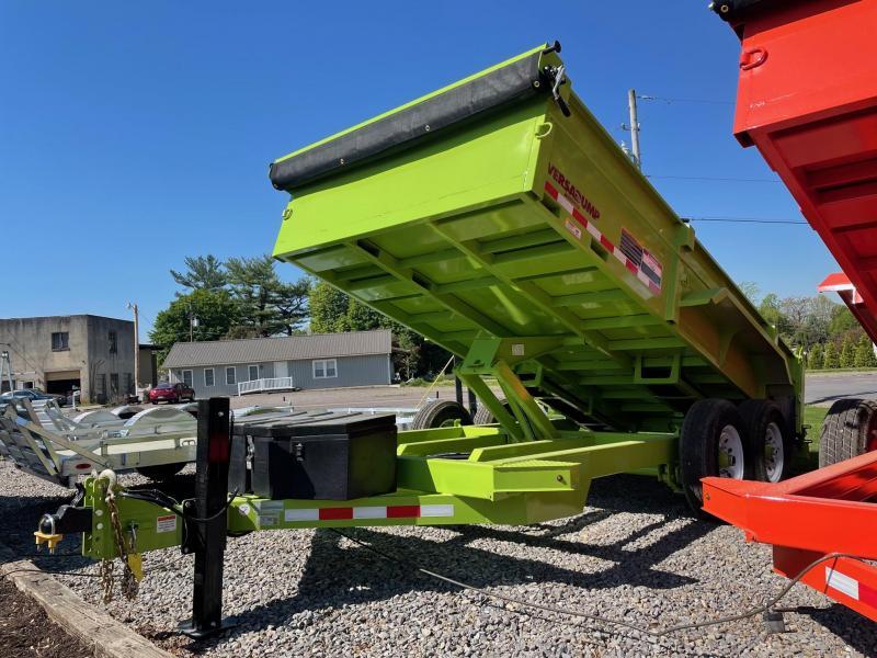 2021 Midsota HV-Series 7x14 15.4K Dump Trailer