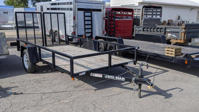 "2013 Bri-Mar 6'4""x12' Utility Trailer"