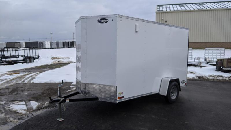 2021 ITI Cargo 6x12 3K Enclosed Cargo Trailer