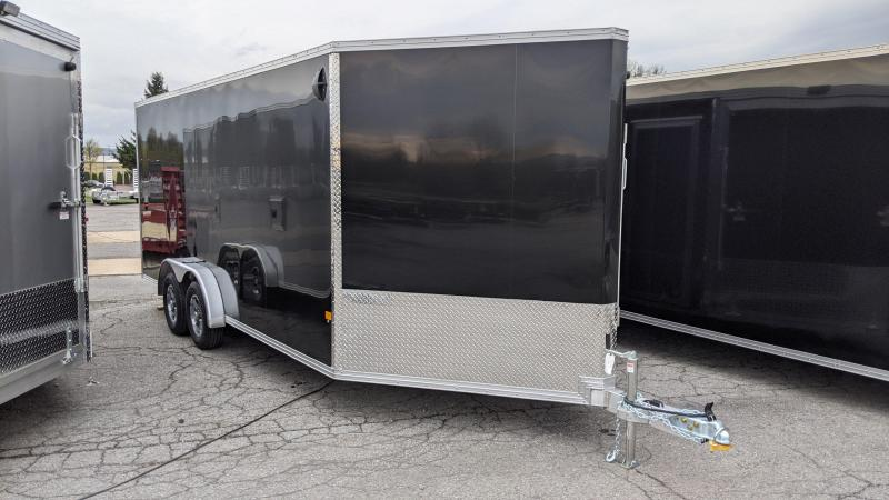 2021 Mission 7.5x18 Snowmobile Trailer