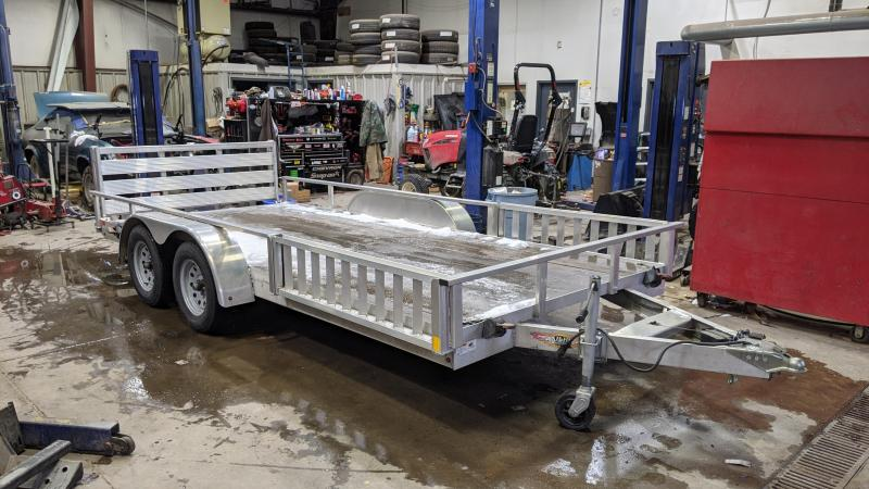 2016 H and H Trailer 83x16 ATV Trailer