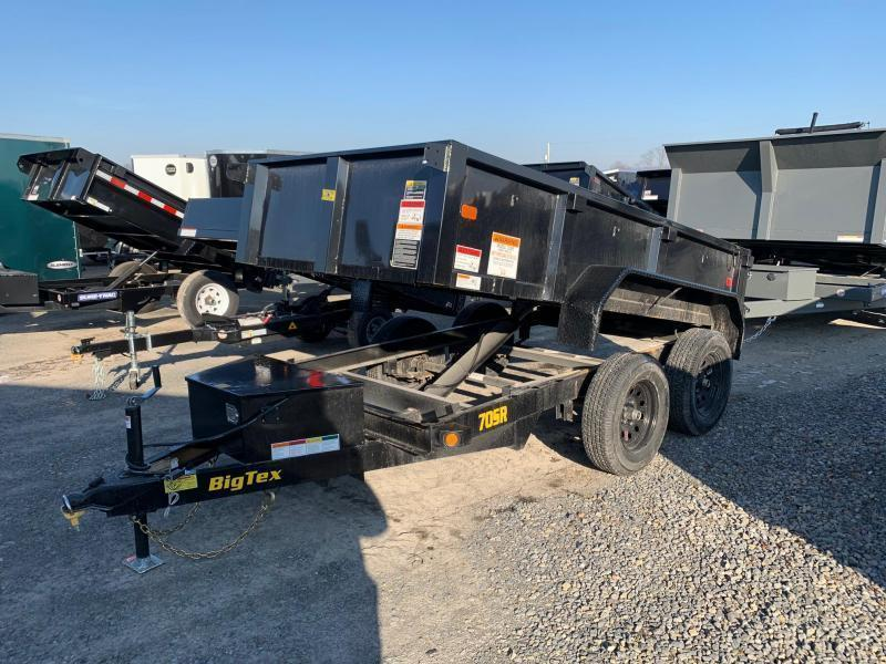 2021 Big Tex Trailers 5x10 7K Dump Trailer