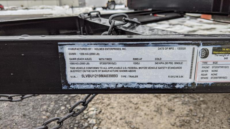 2021 Holmes 5x12 Utility Trailer