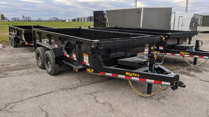 2021 Big Tex Trailers 7x14 Dump Trailer