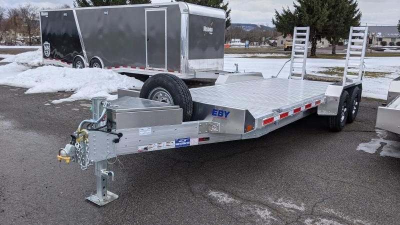 2021 EBY 20' 14K Low Profile Equipment Trailer
