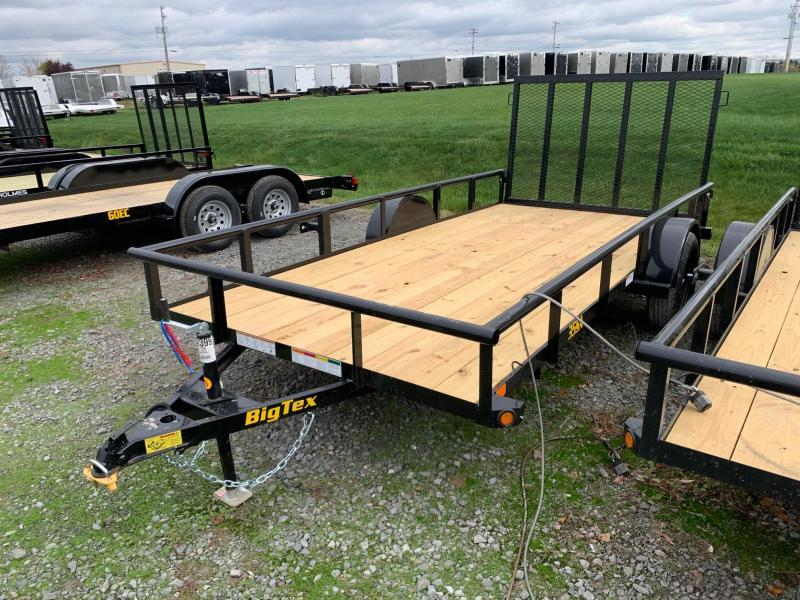 2021 Big Tex Trailers 6'4x14 3K Utility Trailer