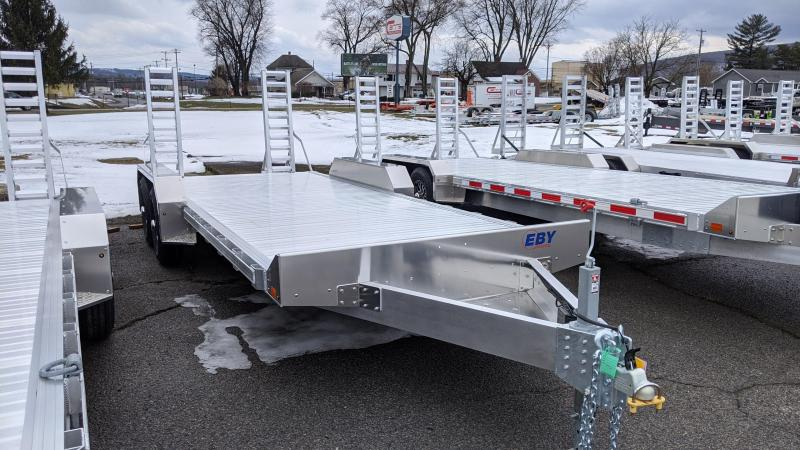 2021 EBY 20' 10K Low Pro Equipment Trailer