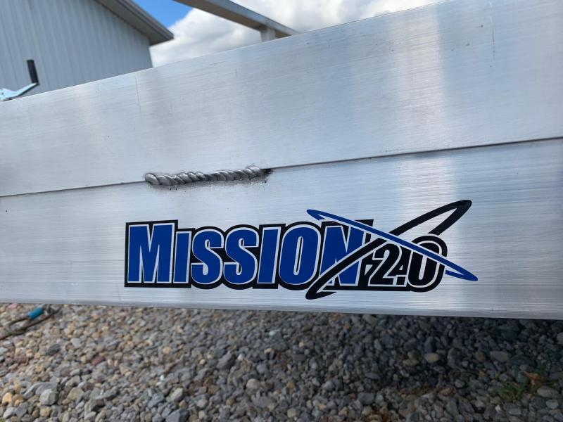 2021 Mission 2.0 80x12 3K Utility Trailer