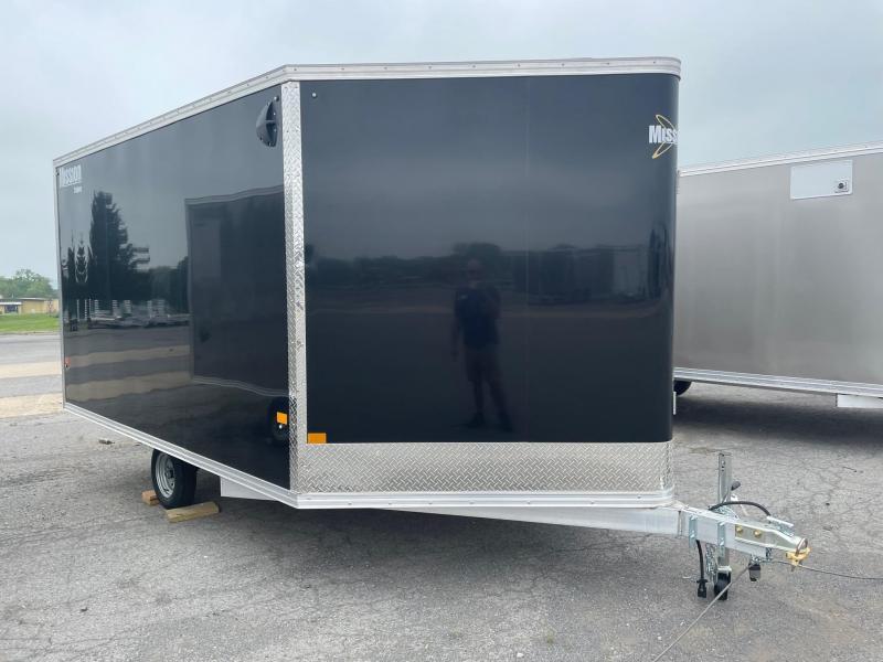 2021 Mission 101x12 Snowmobile Trailer