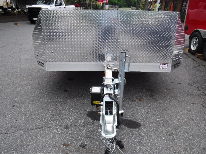 2021 Aluma 8214H-Tilt Motorcycle Trailer