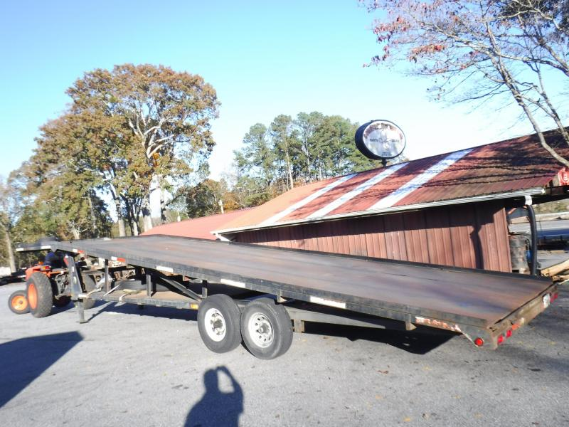 2 Car Hauler  8.5X37 Wedge Trailer
