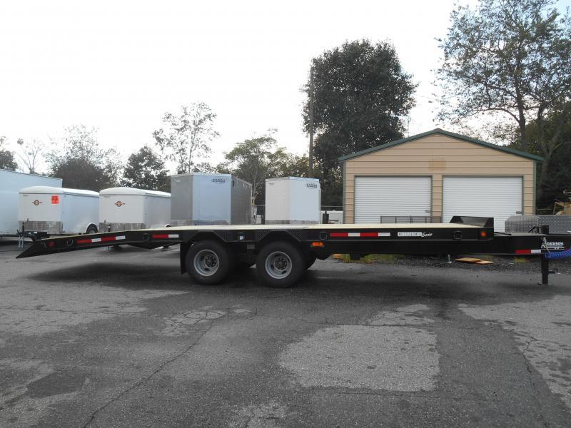2019 Anderson Manufacturing TI82512TC Equipment Trailer