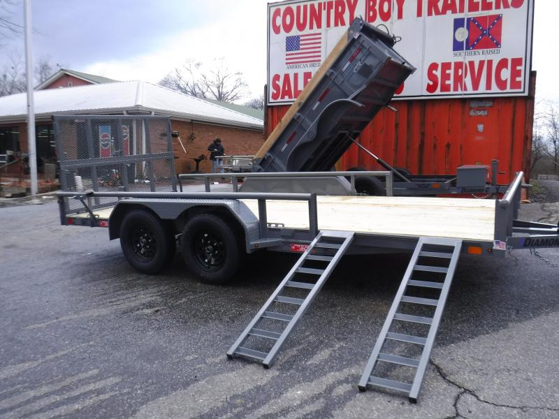 GTU 16X83 Bi-Fold Gate &  Side Load ATV