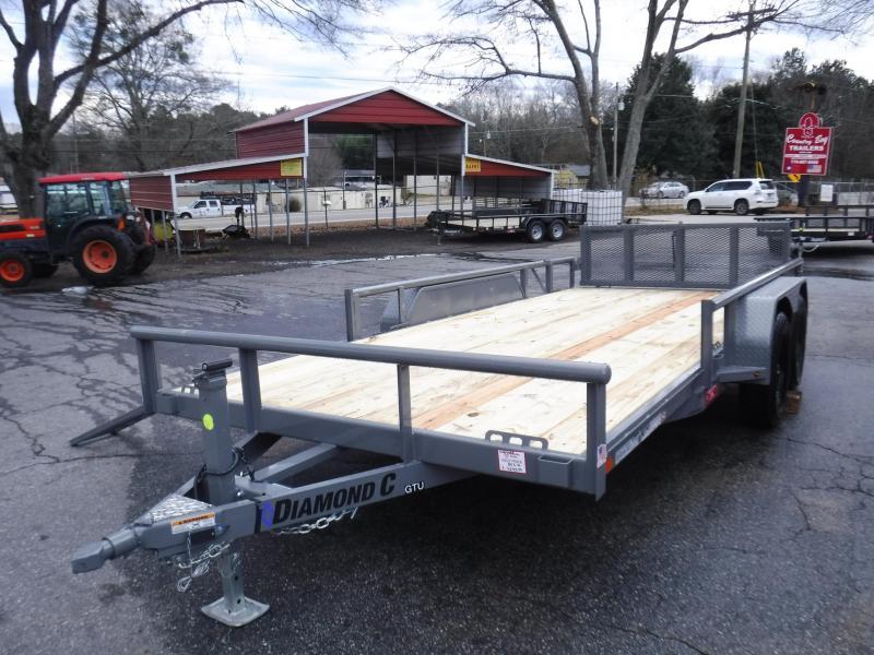 GTU 16X83 Bi-Fold Gate &  Side Load ATV
