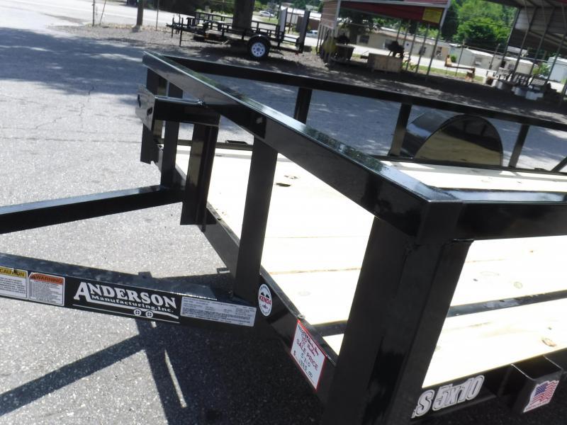 2021 Anderson Manufacturing LS510 Landscape Trailer
